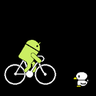 Droid Live Wallpaper bicycle icon