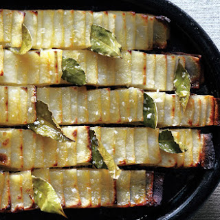 Roasted Domino Potatoes