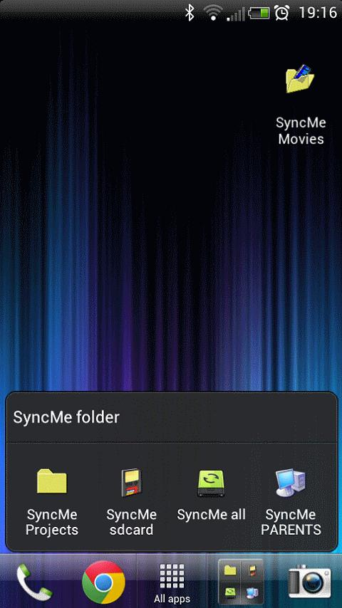 SyncMe Wireless- screenshot