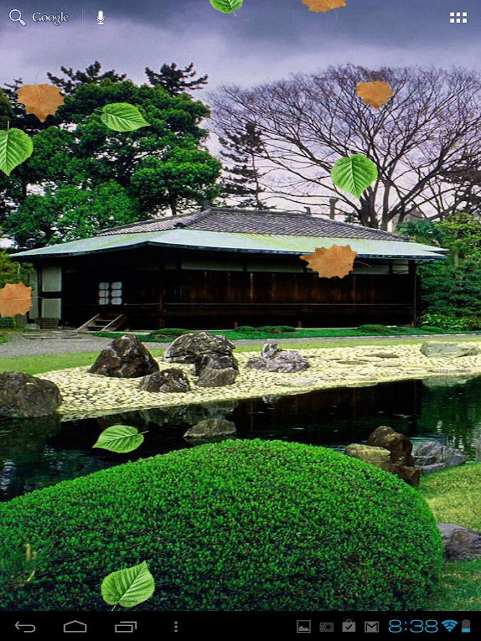 Zen Garden Live Wallpaper 1 0 Android Apps On Google Play