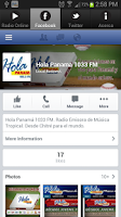 Screenshot of HOLA PANAMA 1033 FM