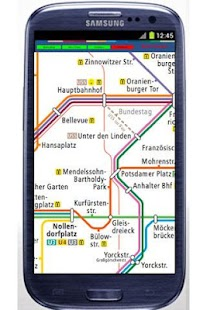 Berlin Subway Tram Map - screenshot thumbnail