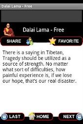 Dalai Lama Wisdom - Free