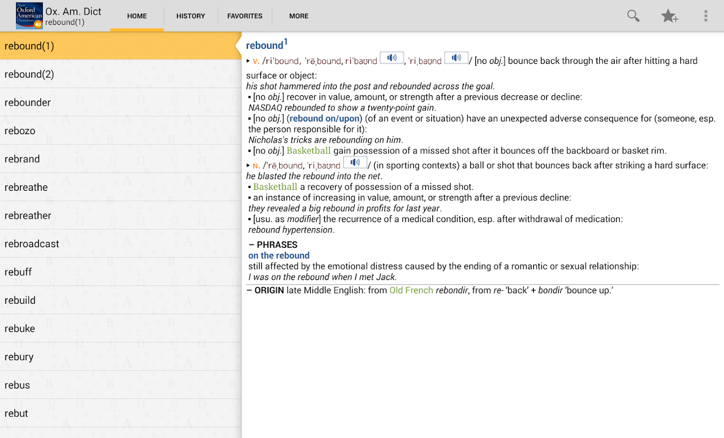New Oxford American_Dictionary - screenshot