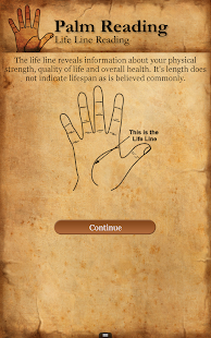 Palm Reading Free - screenshot thumbnail