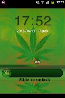 Screenshot of GO Locker Theme WEED GANJA