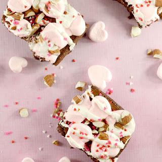 Valentine Rocky Road Brownies!