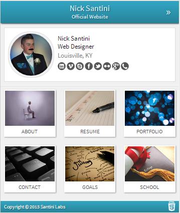 Nick Santini - Web Designer