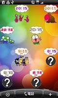 Screenshot of Daily Cartoon007 LWP & Clock