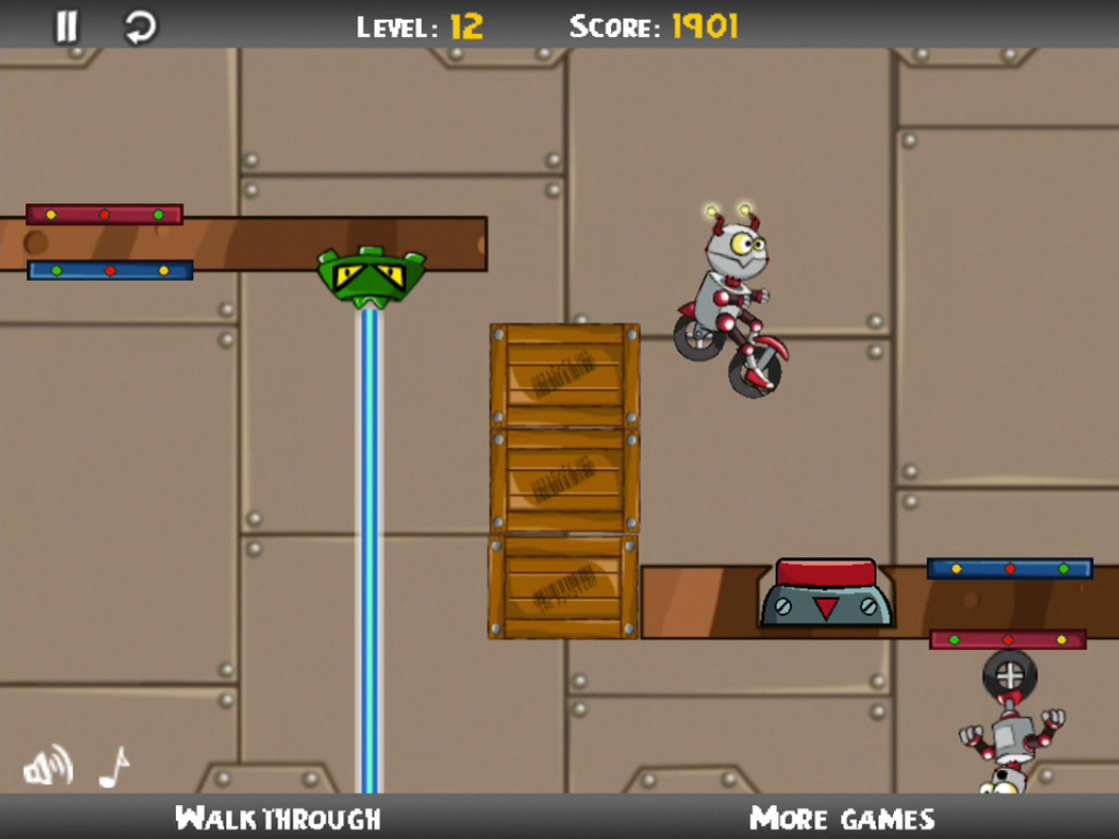 Go Robots - Puzzle Game - screenshot