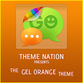 GOSMSTHEME Gel Orange Theme