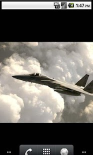 Air Force Cool Live Wallpaper - screenshot thumbnail