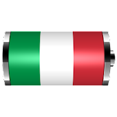 Italy: Flag Battery Widget