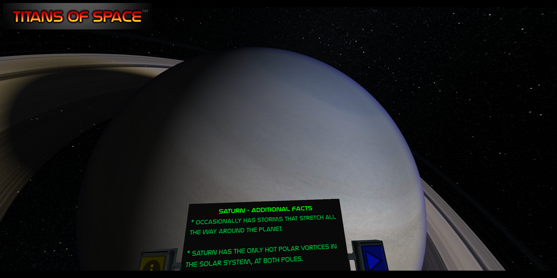Titans of Space® Cardboard VR- screenshot