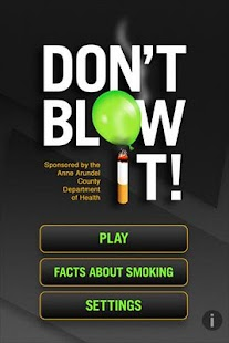 Don't Blow It- screenshot thumbnail