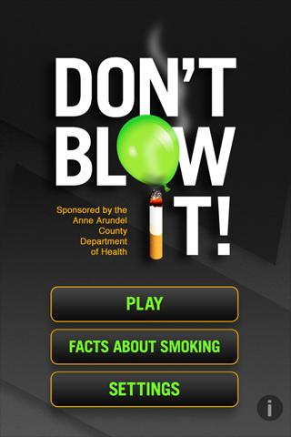 Don't Blow It - screenshot
