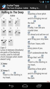 GuitarTapp - Tabs & Chords screenshot 3