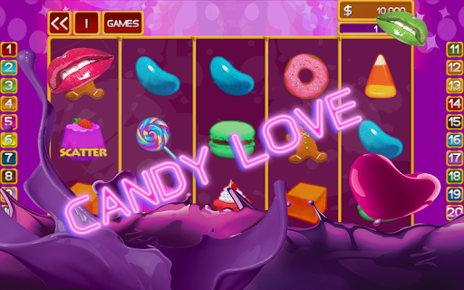 Royal Candy Slot Machine Saga