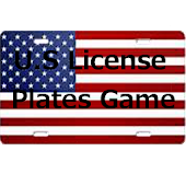U.S License Plates Game