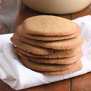 Brown Sugar Icebox Cookies.