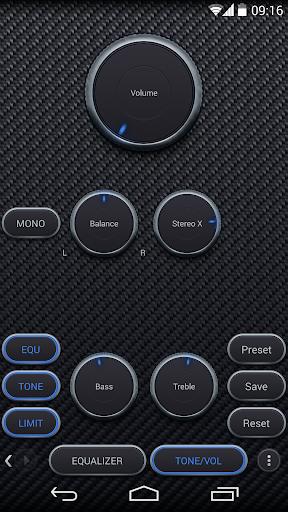 Skin for Poweramp Carbon Fiber  screenshots 3