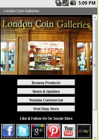London Coin Galleries - MV