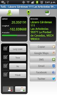 TaSL - Send My GPS Location
