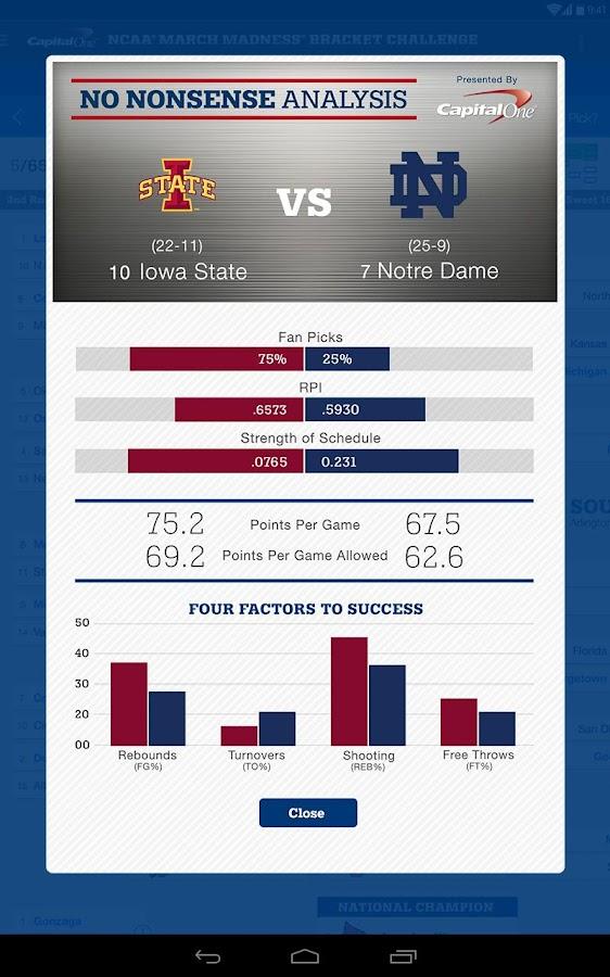 NCAA® March Madness® Live - screenshot