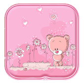 Cute Teddy Bear Live Wallpaper