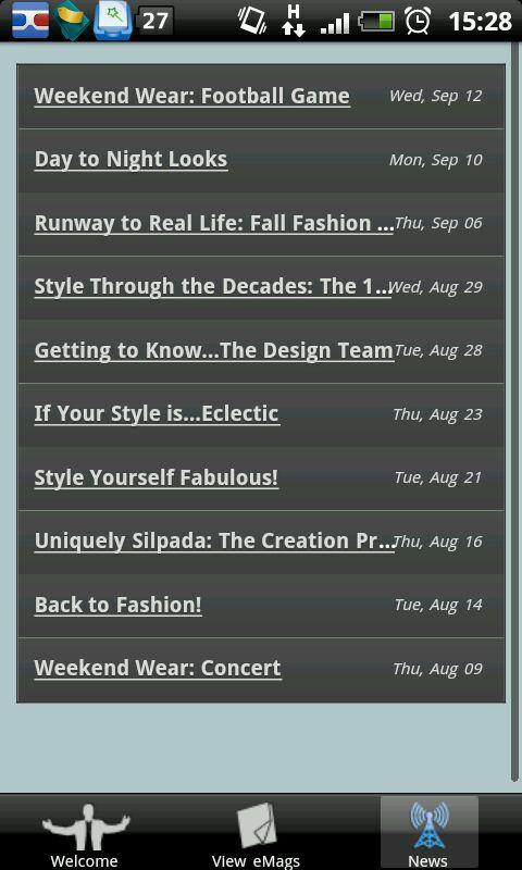 Silpada Designs Catalog App - screenshot