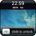 Slide to unlock - Keypad Lock icon