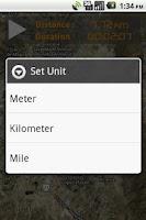 Screenshot of My Distance Meter
