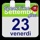 SpeakTime Glass widget icon