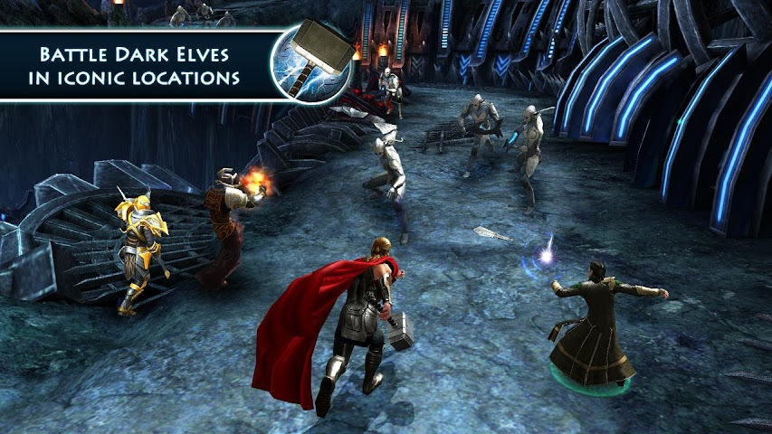 Screenshot 2 Thor: TDW - The Official Game