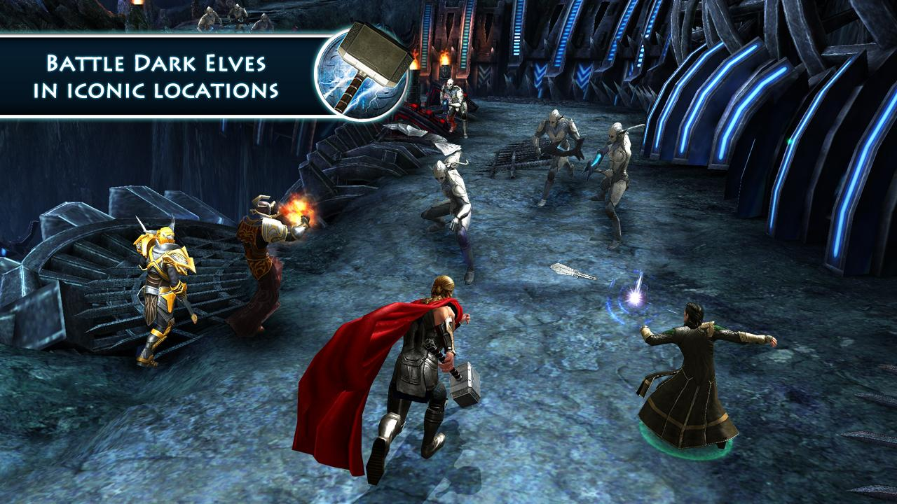 Thor: TDW - The Official Game- screenshot
