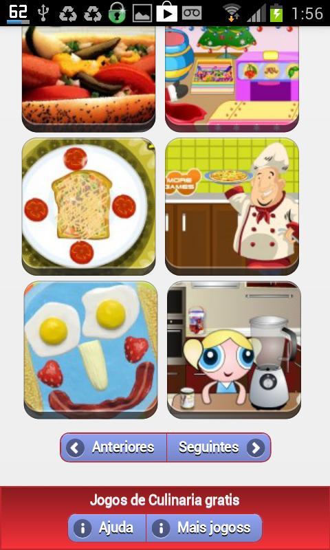 Jogos de Culinaria - screenshot