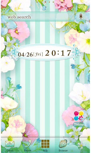 Pastel Flower Wallpaper Theme 1.5 Windows u7528 1