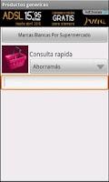 Screenshot of Productos genericos