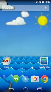 Paper Ocean Live Wallpaper- screenshot thumbnail