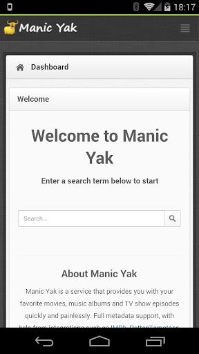Manic Yak