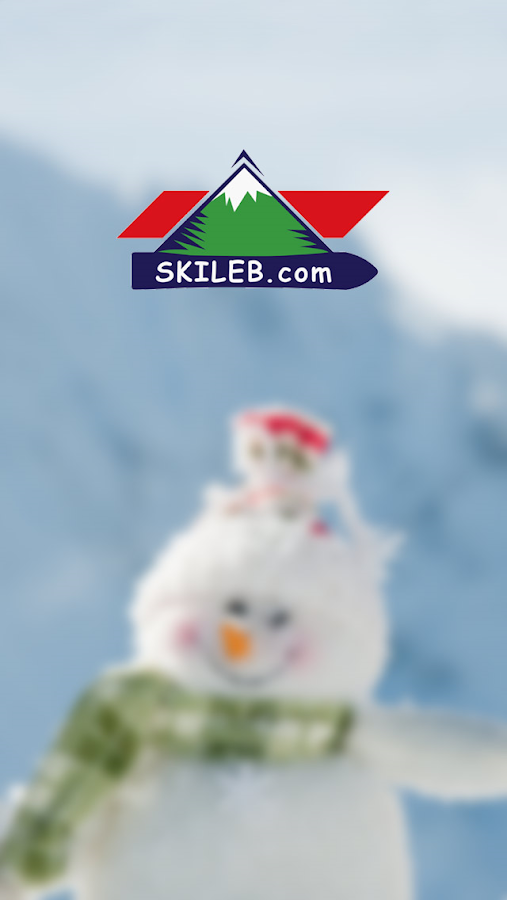 Skiing in Lebanon- screenshot
