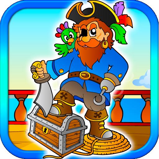 Pirate Jewels Puzzle Blitz Kid LOGO-APP點子