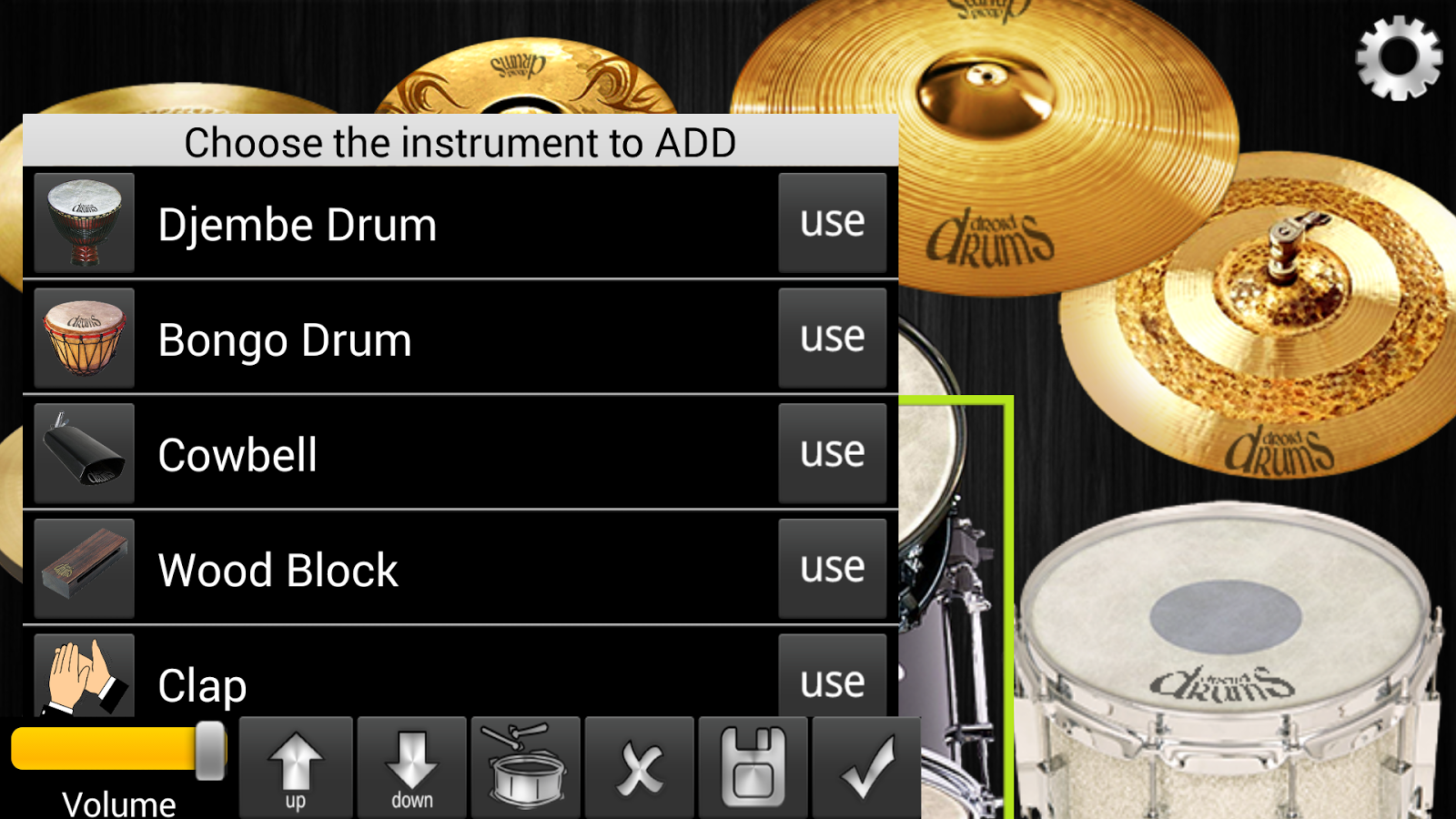 Free Android Apps for Drummers - CompactDrums