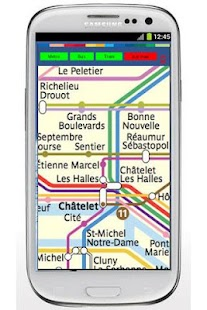 Paris Metro Bus Train- screenshot thumbnail
