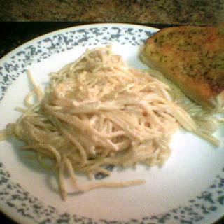 Creamy White Sauce Noodles Recipes.