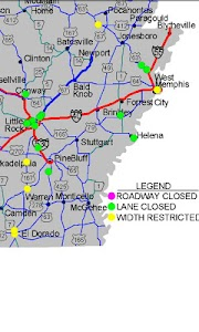 Arkansas State Road screenshot 1