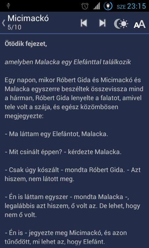Micimackó, Micimackó kuckója - screenshot