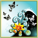 Butterfly Splash LW icon
