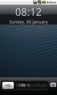 Fake iPhone 5 Launcher - screenshot thumbnail