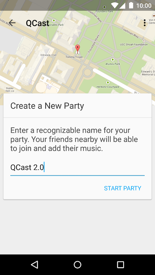 QCast Music - Party Playlists - screenshot